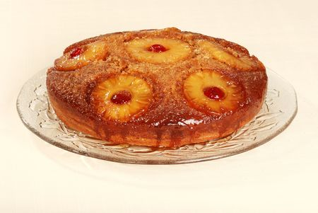 upside down: pineapple upside down cake