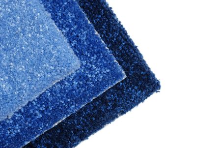 shades of blue carpet samples photo