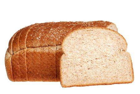 sliced stone milled bread