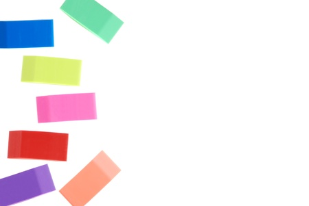 assorted erasers Stock Photo - 9196622
