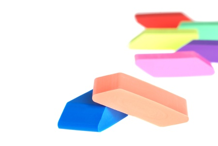 erasers Stock Photo - 9820361