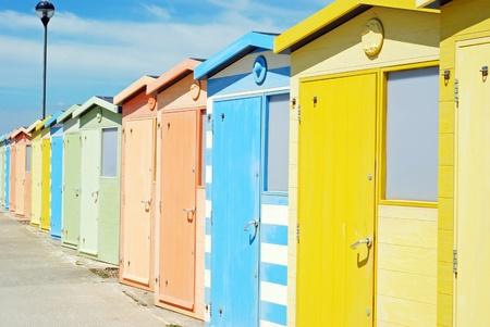 Beach huts Stock Photo - 9820376