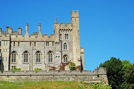 Arundelkasteel in Arundel, West-Sussex, Engeland Stockfoto