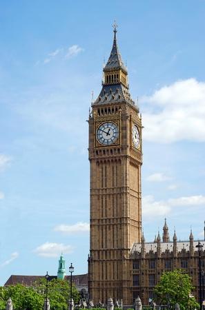 big ben clock tower london england Stock Photo - 9820407