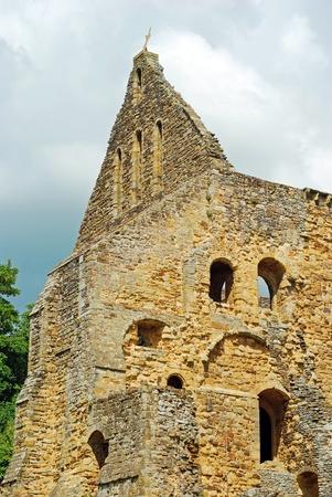 church ruins Battle Abbey, Battle,East Sussex, England