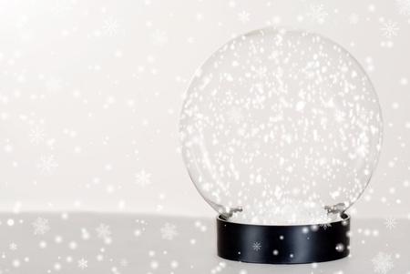 Snow globe photo