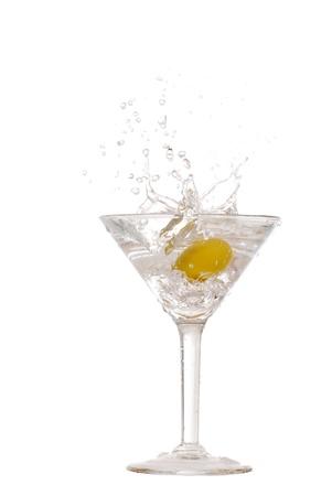 martini splash: classic martini splash