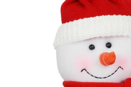 macro snowman face Stock Photo - 11171101
