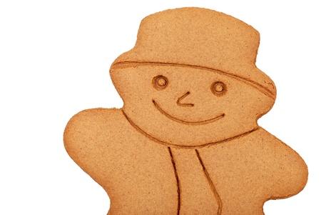 gingerbread: Gingerbread snowman