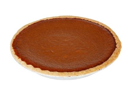 pumpkin pie: isolated pumpkin pie