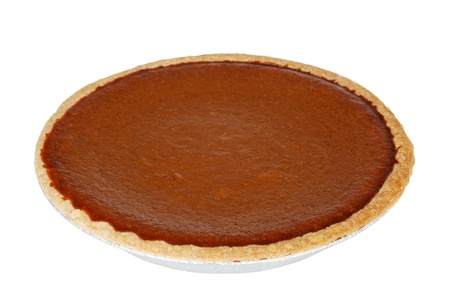 isolated pumpkin pie Stock Photo - 11485843