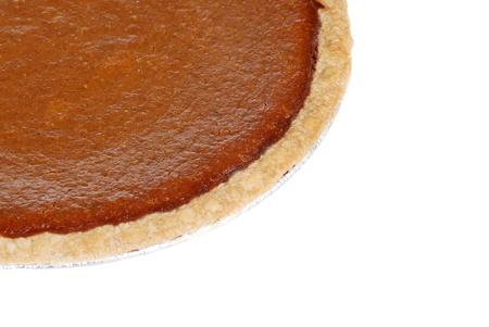 pumpkin pie: Macro pumpkin pie