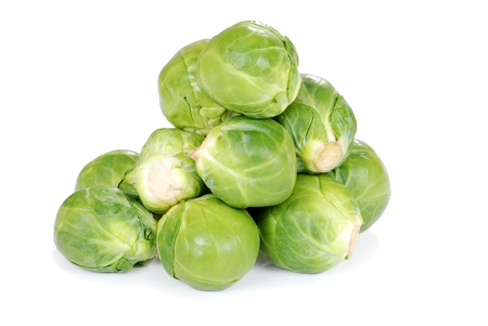 Brussel sprouts 写真素材