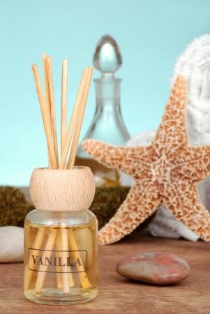 Vanilla scent reed diffuser photo