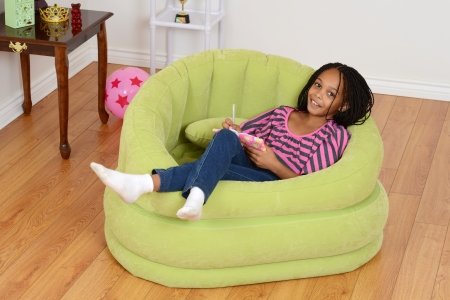 cornrows: happy young black child relaxing
