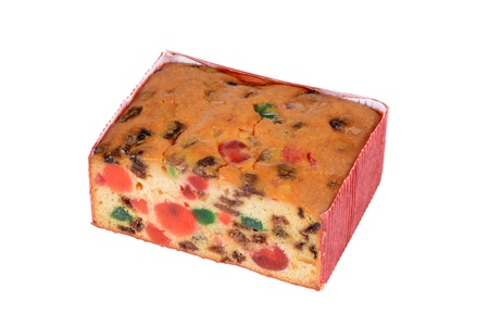 fruitcake: Fruit cake Stock Photo
