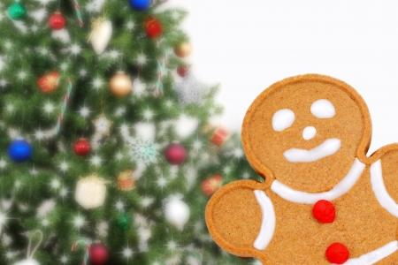 gingerbread: Closeup gingerbread man