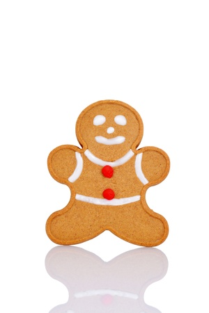 gingerbread man: Gingerbread man with red buttons