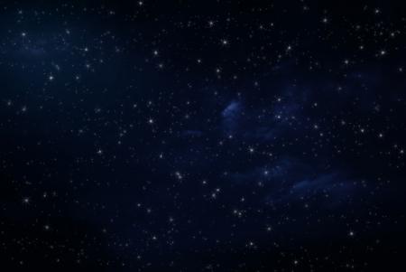 sterrenhemel: Nachthemel met sterren