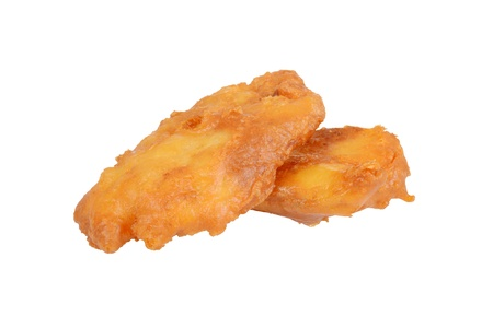 deep fried haddock fish in batter