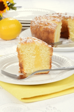 lemon coffee cake photo
