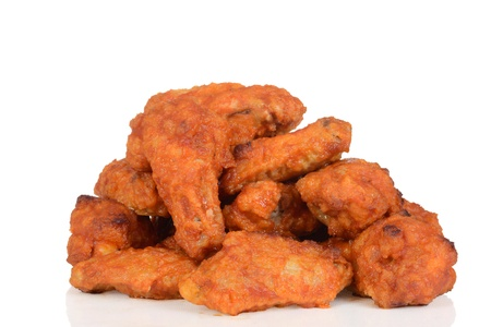 Pile of chicken wings