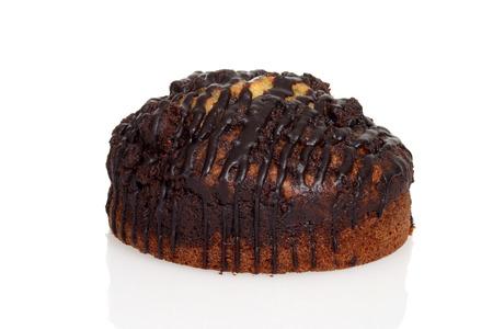 cafe y pastel: m�rmol de chocolate pastel de caf� Foto de archivo