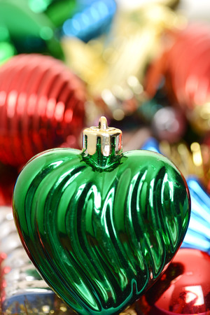 old fashioned christmas: macro old fashioned christmas ornament Stock Photo
