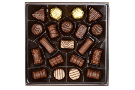 cioccolato natale: vista assortiti top box cioccolatini