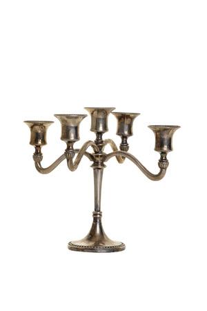 silver candelabra antique