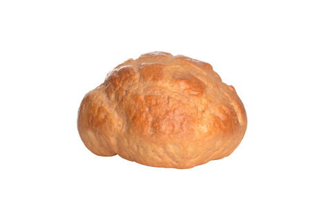 cottage loaf of bread photo