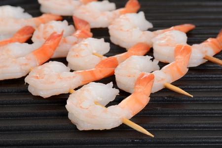 fish tail: macro shrimp skewers