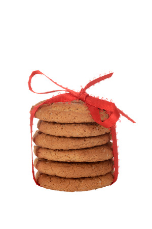 snap: isolated ginger snap cookies Stock Photo