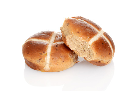 hot cross buns with raisins