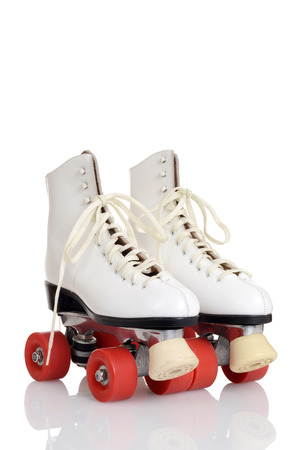 women white quad roller skates