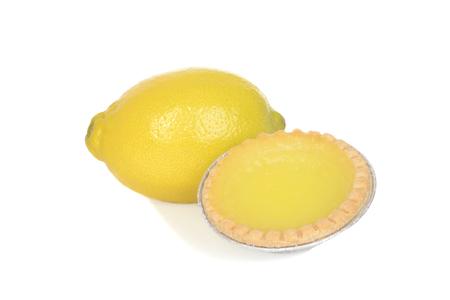 lemon tart with fruit