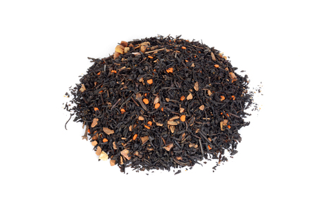 pile of chai tea with pumpkin and clove Stock Photo