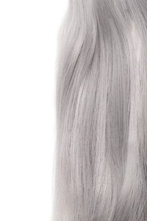 piece of grey hair
