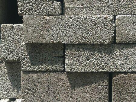 blurry abstract colorful background Tetris from masonry grey blocks Zdjęcie Seryjne