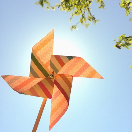 Pinwheel of summer Stock fotó
