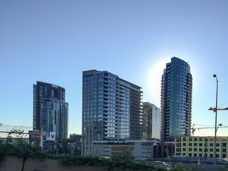 dawns: Portland skyscrapers by dawns early light