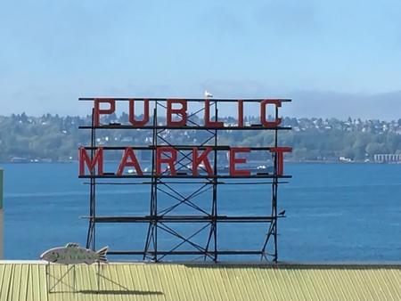 public market sign: Public market
