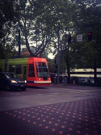 Commuting Portland Zdjęcie Seryjne
