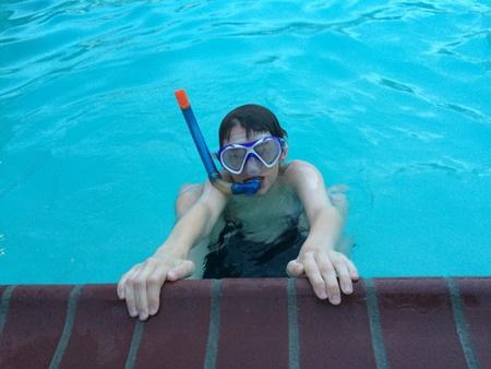Snorkeling Zdjęcie Seryjne