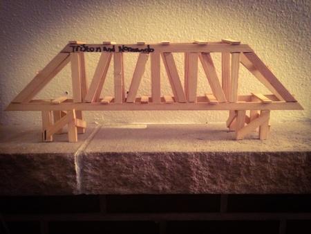 artwork: Artistic bridge model