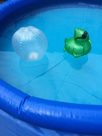 afloat: Afloat in the water