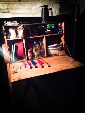 Night supplies while camping Zdjęcie Seryjne