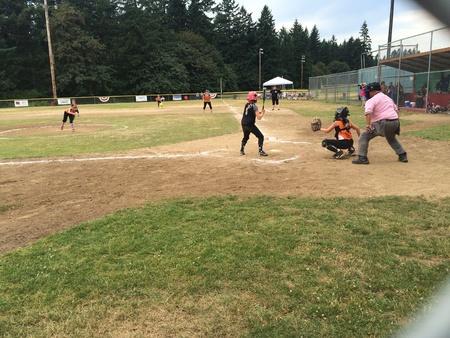 batter: Batter up Stock Photo