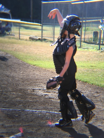 big game: Catcher at the big game