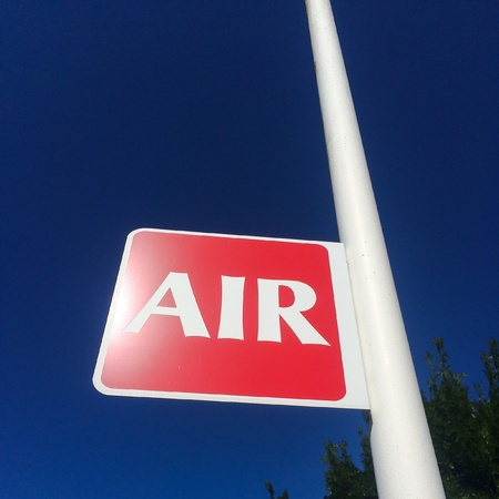 Sign of air